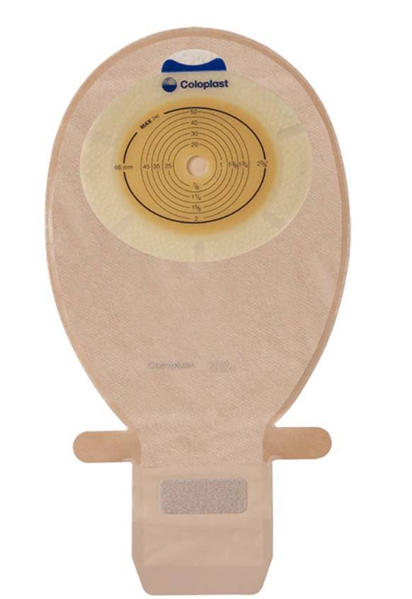 Coloplast Worek stomijny SenSura 1-częściowy otwarty z okienkiem cielisty